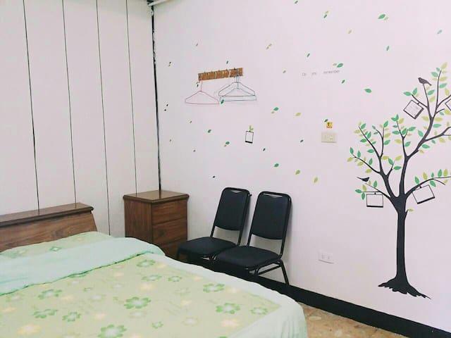 小樹雙人房 Trees double room - TW - Inny
