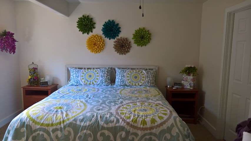 King bed, private bath, private entrance - Johnstown - Talo