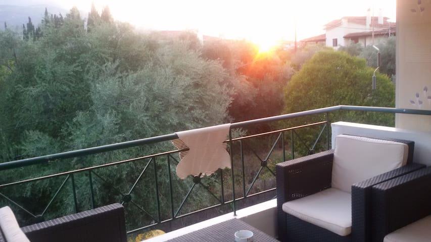 Χαρουμενο διαμερισμα με σοφιτα - Elaionas - Appartement