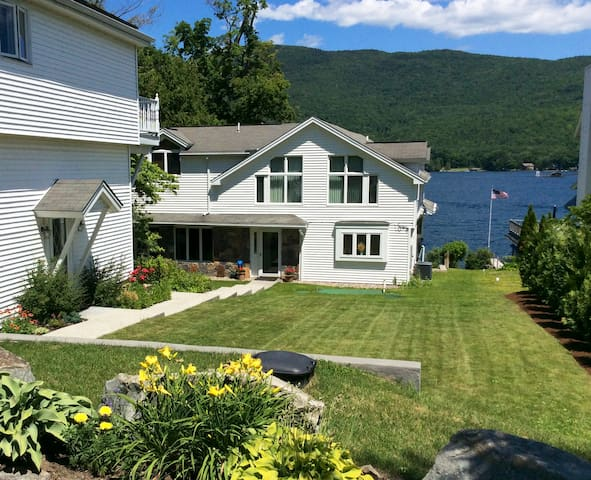 """Lake George Apartment on """"Queen of American Lakes"""" - Cleverdale - Byt"""