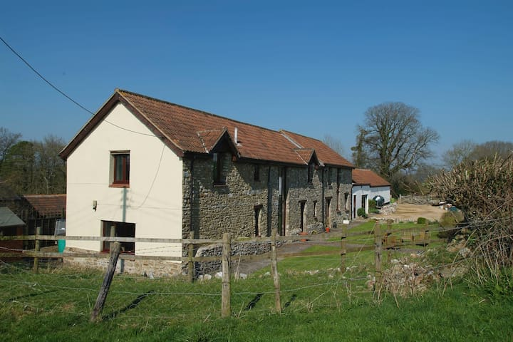 Coburns Barn, Bishopswood, Blackdown Hills (AONB) - Bishopswood - 家庭式旅館