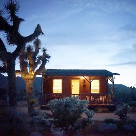Joshua Tree Cabin. - Joshua Tree - Blockhütte