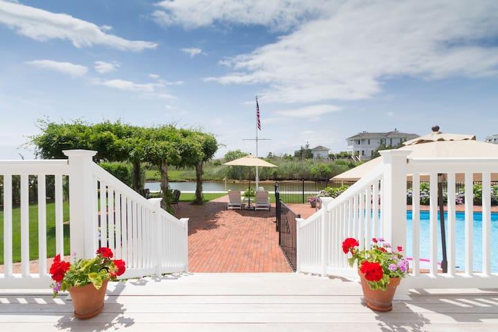 Idyllic Bayside Hamptons Amazing Getaway and Views - Westhampton - Dům