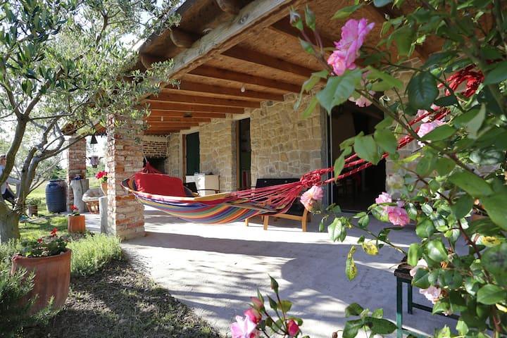 Stone House with oliveyard - Rupalj - Huis