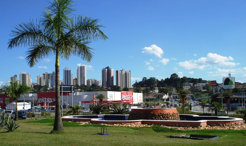 Best neighborhood. Walking distance  Colinas Mall. - São José dos Campos - Apartemen