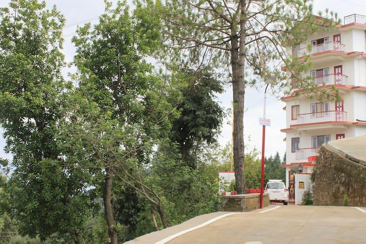 Valley facing dlx room with balcony - Shoghi - Villa