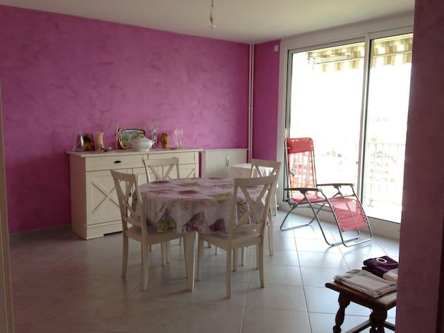 Appartement chaleureux, pratique, sans contrainte - Bourg-en-Bresse - Appartement