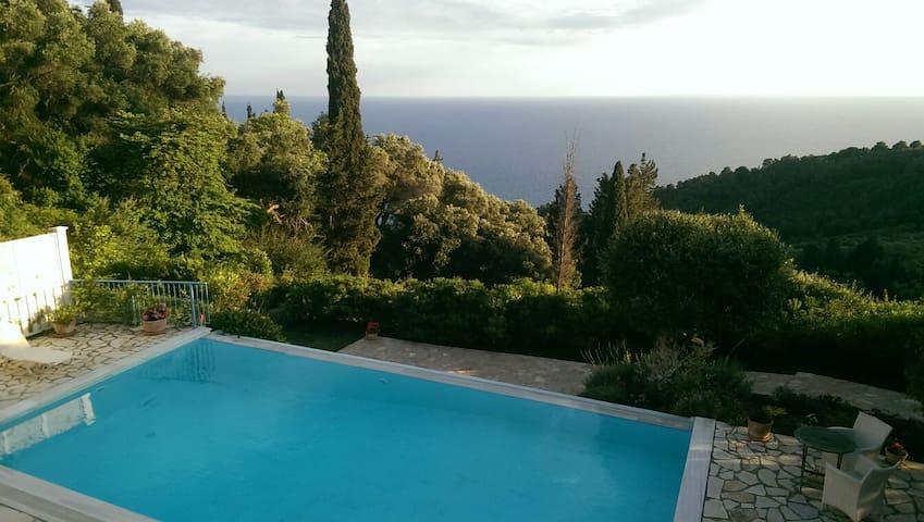Beautiful villa with fab sea views - Pelekas - Maison