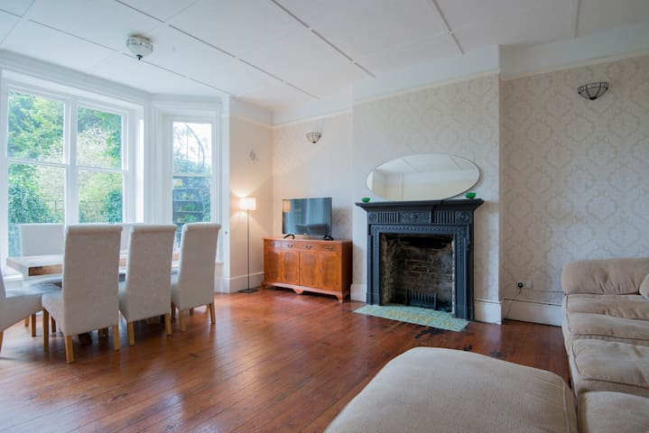 Bright & spacious 2 bed garden flat - Hove - Pis