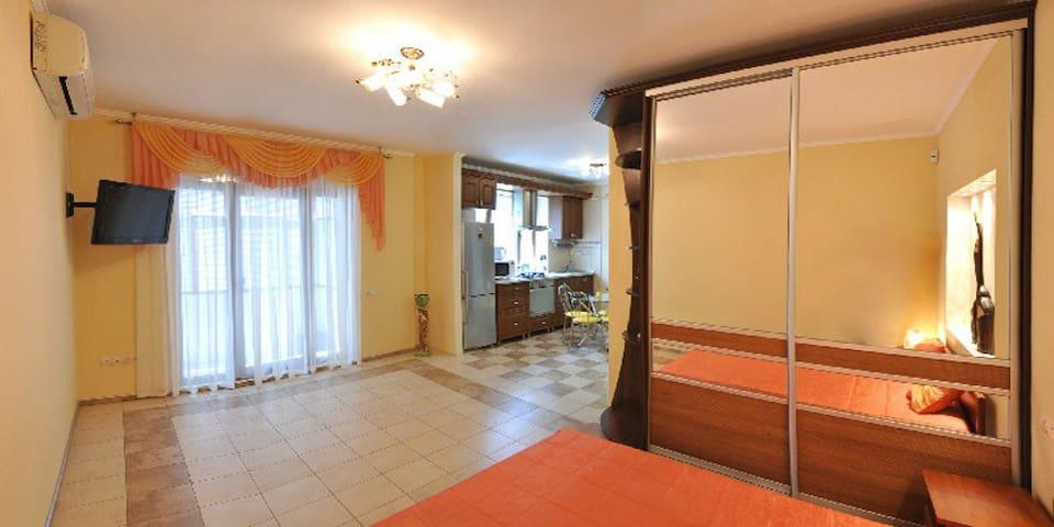 Lux Apartment Studio in City Centre near McDonalds - Mykolaiv