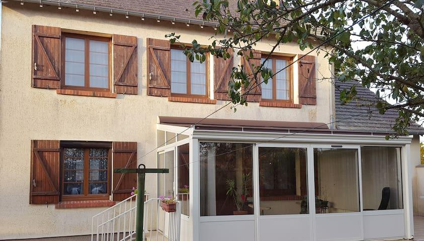belle maison à 80km de Paris - Vert-en-Drouais - Huis