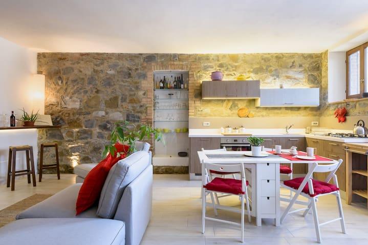 Giove's cosy home in Montalcino - Montalcino