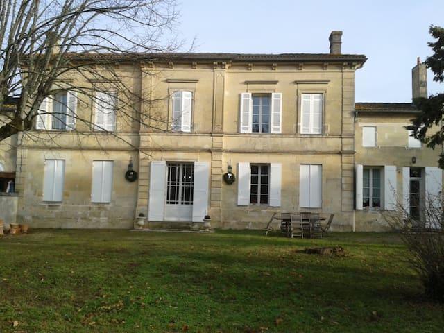 """Chambre """"Merlot Noir"""" à Néac - Néac - Huis"""