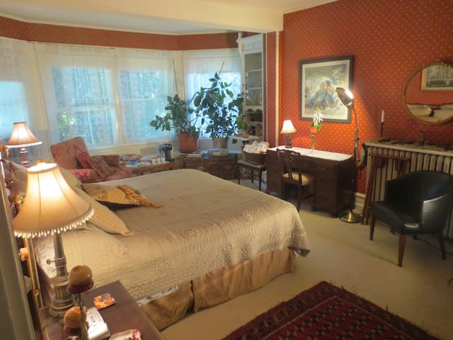 KING 1 -WALK TO TRAIN * PRIVATE PARKING * BnB K1 - Philadelphie - Bed & Breakfast