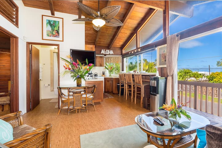 $170/NT Special ~ May 17th~22nd~ Beach Cottage - Waimanalo - Bungalou