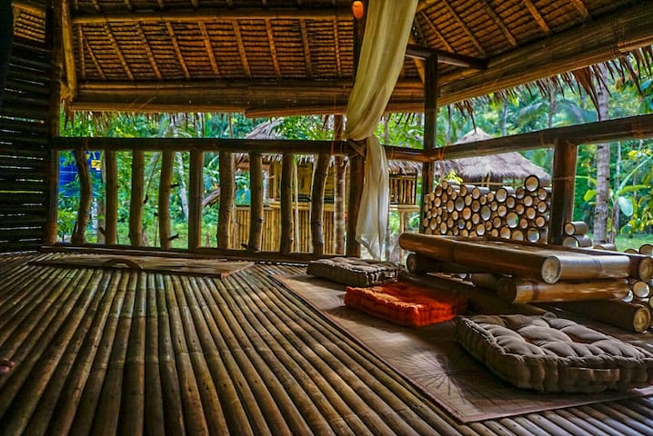 Water To Forest bamboo cottage by the river 1 - Loboc, Central Visayas, PH - Bangalô
