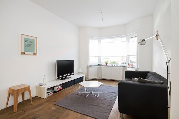 Cosy old apartment with garden + WiFi - Utrecht - Departamento