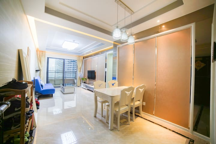 Guangzhou Canton Fair Apartment, One min to Metro - Foshan - Inap sarapan