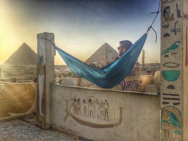 Private Room + Tour Services @Pyramids Loft - Giza - 公寓