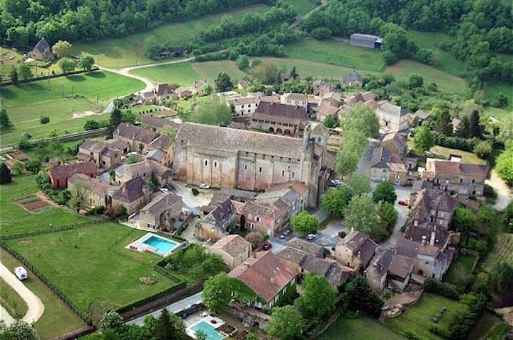 Renovated barn in Dordogne France - Saint-Avit Senieur