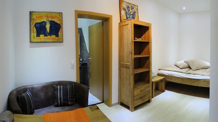 Travelers-Home, Luxuriöse Ferienapartments am Main - Hasloch - Appartement
