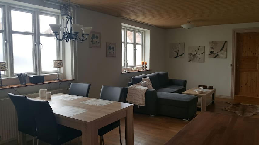 Deluxe apartment No. 4 in large townhouse in Rande - Randers - Villa