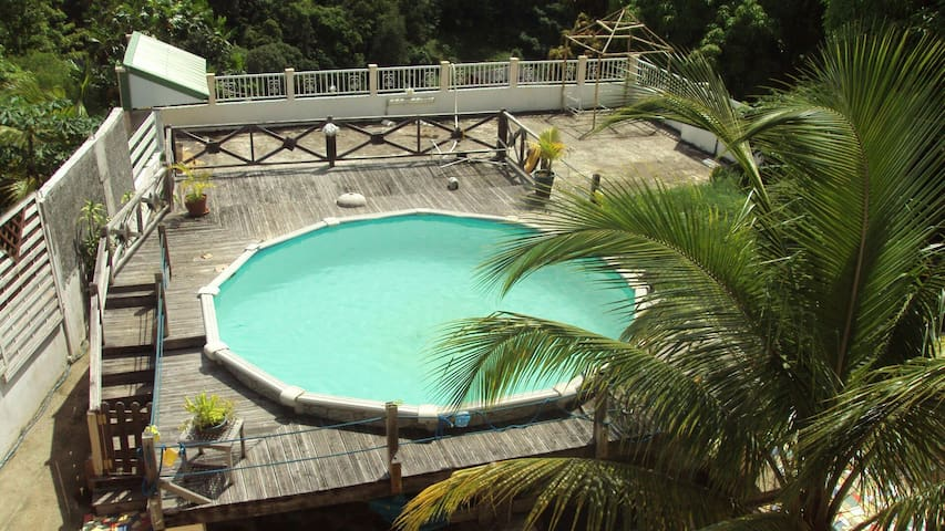 Villa créole - route de coma - Casa