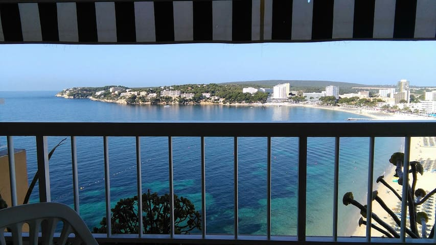 Apt 50 m2 sur la plage On the Beach 1 chambre 3 p - torrenova, punta ballena - Apartemen