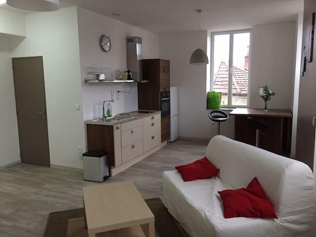 Le 17, Appartement 4 personnes centre de beaune - Beaune - Lägenhet