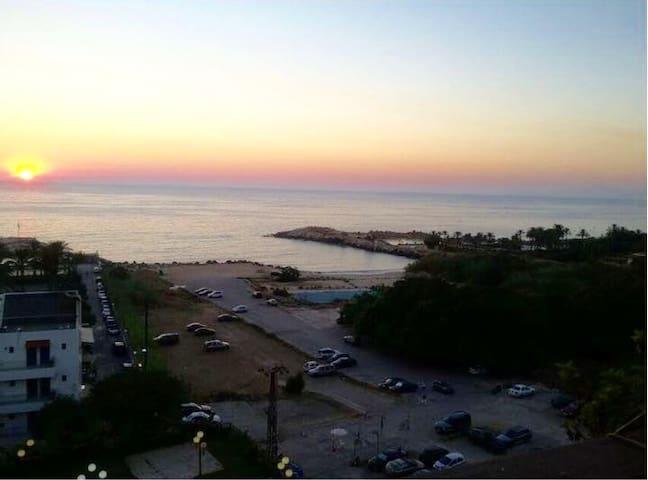 Sea view chalet in Solemar Resort - Kaslik