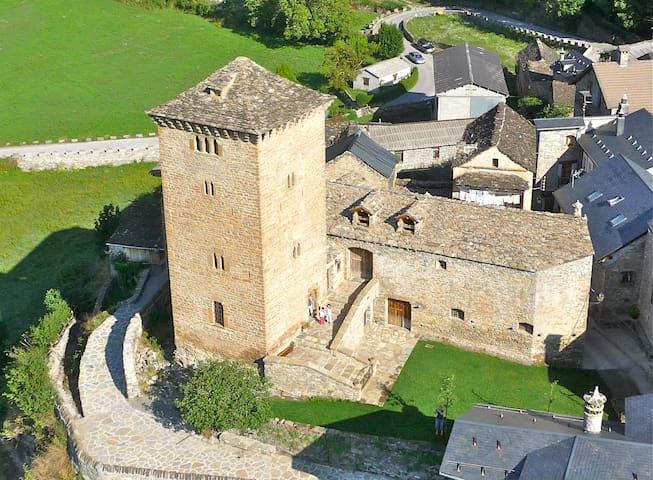 1. AMAZING historic 15th Century Defensive Tower - Oto (Broto) - Slott