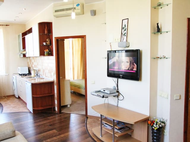 CENTER OF KHARKOV: 1BED APARTMENT - Charkiw