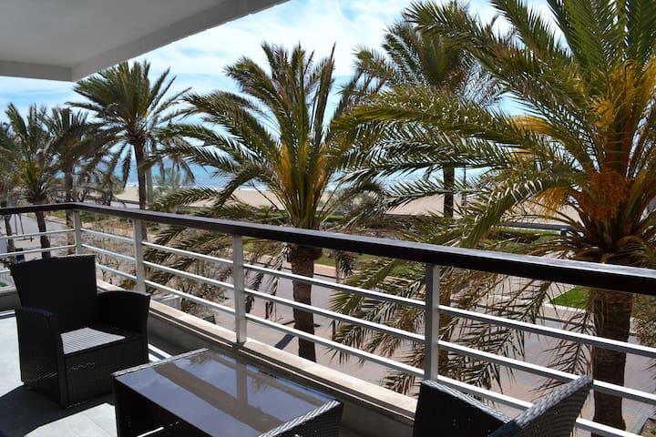 Chill apartment 1st line sea views - Palma