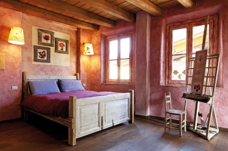 Galbusera Bianca - Stanza delle Peonie - Rovagnate - Bed & Breakfast