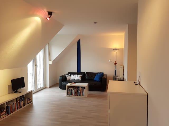Helles Appartment mit Balkon Nähe SAP, MLP, HDM - Wiesloch - Apartemen
