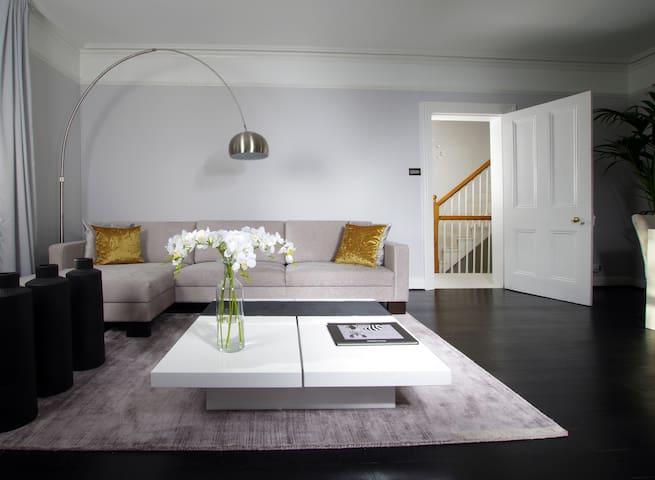 Private suite in contemporary apartment - Chislehurst - Lägenhet