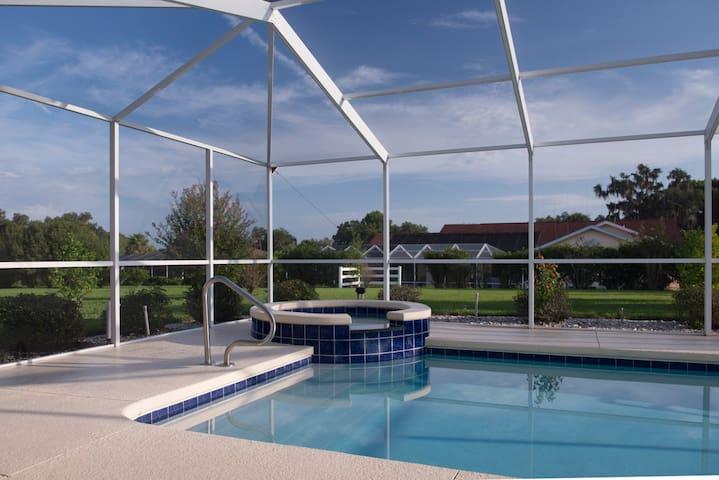 Great golf villa with private pool - Inverness - Villa