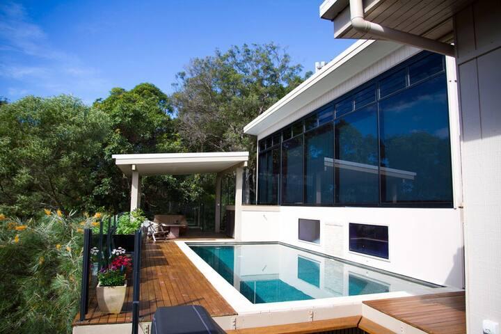 Mountain Studio ocean & bush views - Mount Coolum - Pension