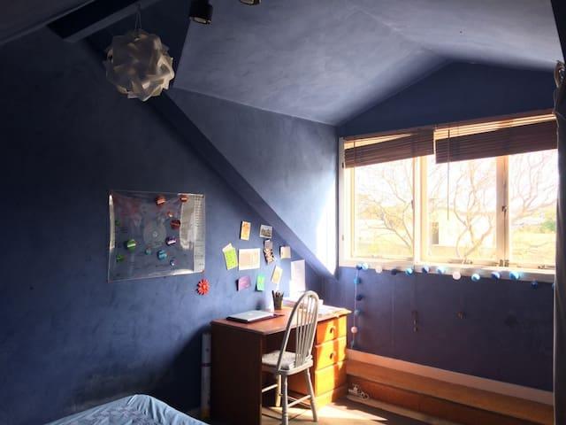 Cozy attic in a spacious townhouse Redfern station - Redfern - Casa