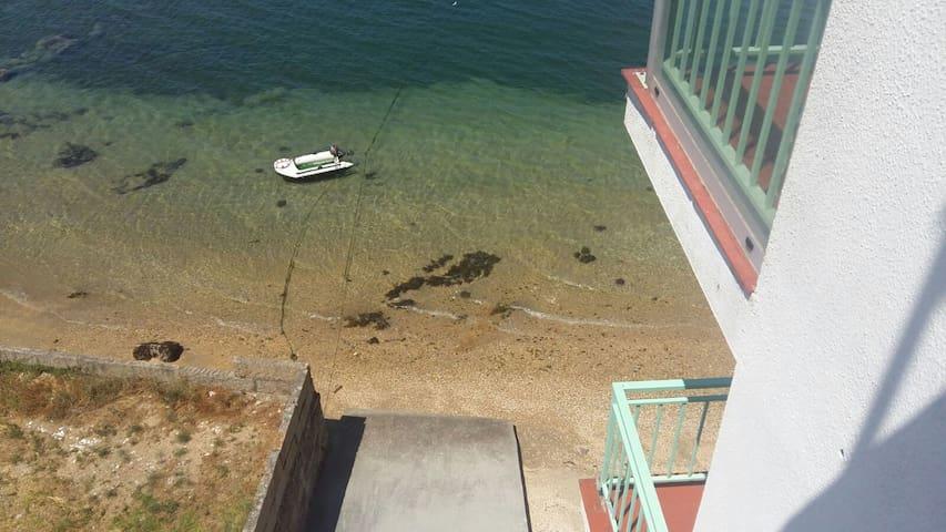Apartamento a orilla de la playa - Vilanova de Arousa - Leilighet