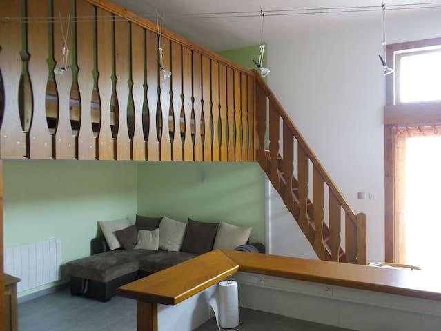 Appartement-studio entre lacs et montagne - Bons-en-Chablais - Leilighet