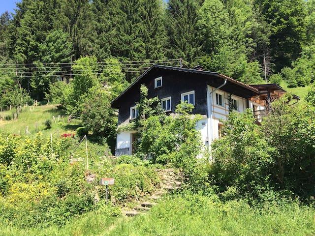 Gemütliche Ferienwohnung am Eistobel - Grünenbach - Apartamento