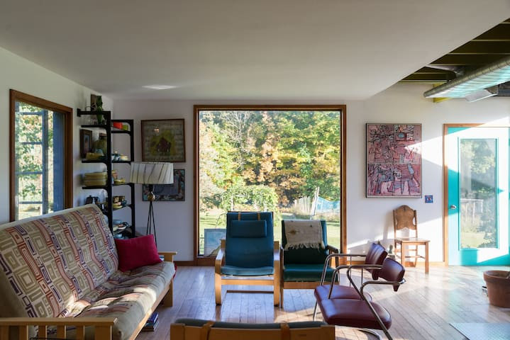 Spacious contemporary home with beautiful views - Middleburgh - Huis