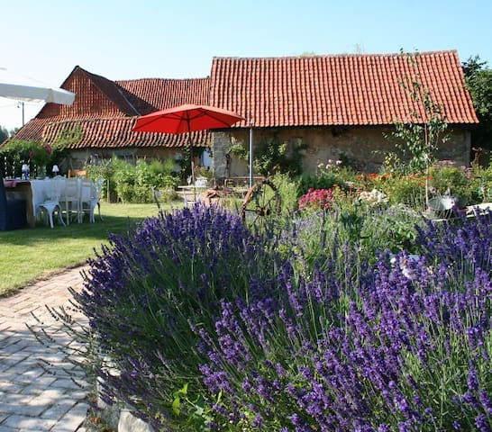 Gite/Self-contained Cottage in relaxed courtyard - Saint-Georges - Rumah