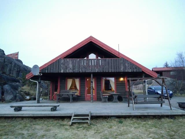 Flott hytte i Bogsdalen - Sirevåg