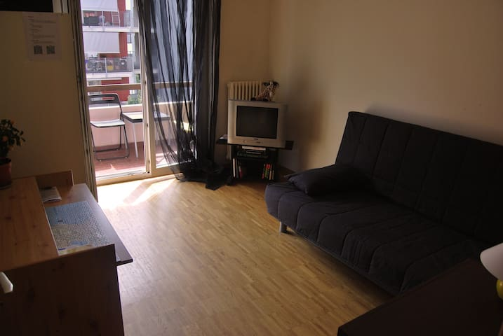 A room with balcony near the city centre of Lugano - Lugano - Daire