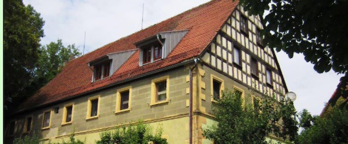 Ländliches Fachwerkhaus - Feuchtwangen  - Podkroví