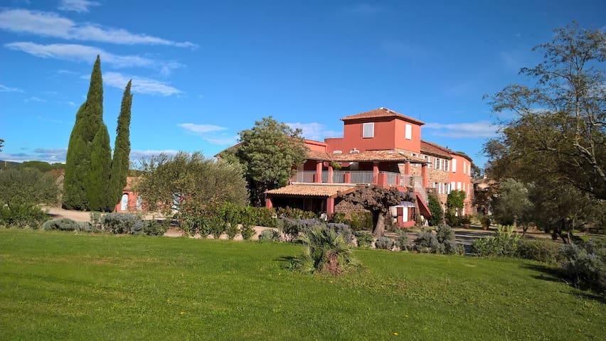 Ferienappartement im Herzen der Provence mit Pool - Le Cannet-des-Maures - Leilighet