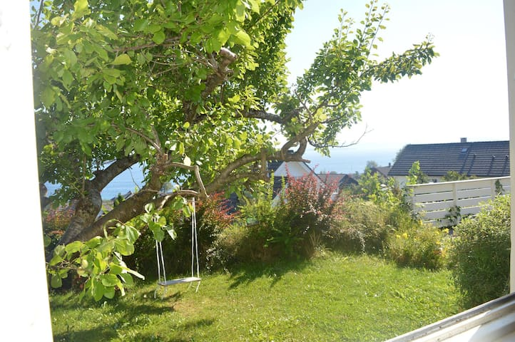 Trivelig leilighet med flott utsikt - Stord - Lägenhet