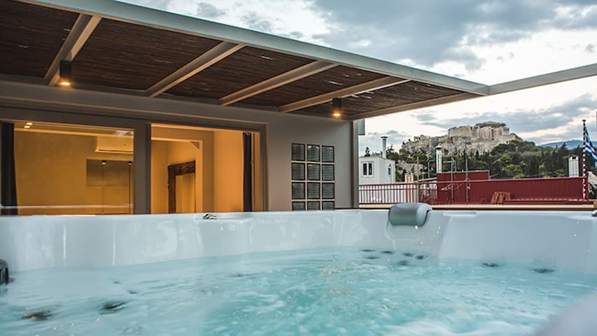 GRSTATH102-3 The Sidewalk Grand House with jacuzzi - Athen - Villa